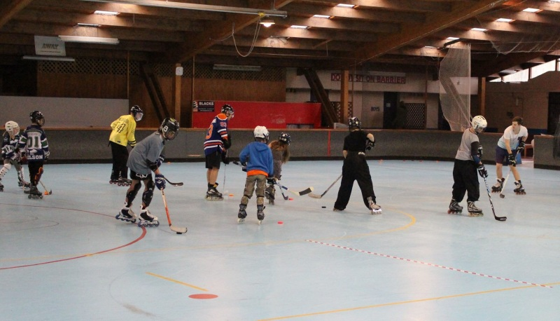 Learn to Play Inline Hockey