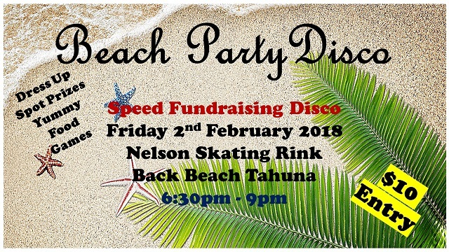 Beach Party Disco - 2nd February 2018