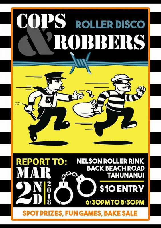 Cops And Robbers L8 Sk8 - Friday 2nd March  2018