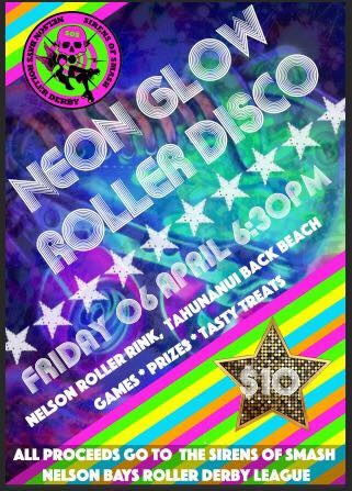 Neon Glow Roller Disco - Friday 6 April 2018
