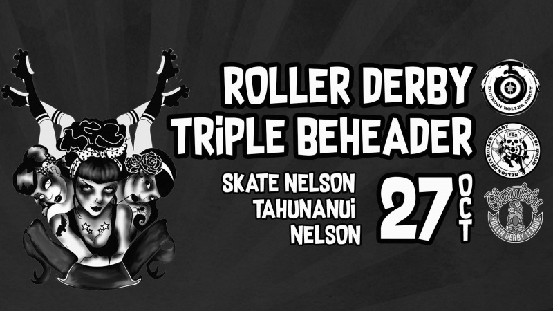 Roller Derby Triple BeHeadHer! 27 October 2018