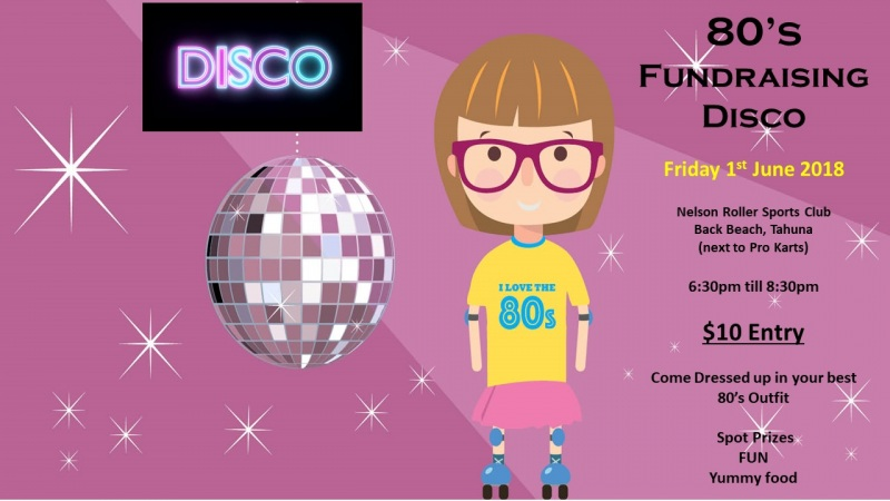 80s Roller Disco - Friday 1 June 2018