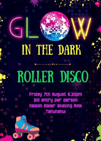 Glow in the Dark Disco - 7th August 2020